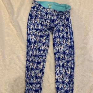 Lilly Pulitzer Pants - cropped lily pulitzer leggings